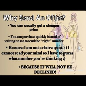 Why Should You Send An Offer?